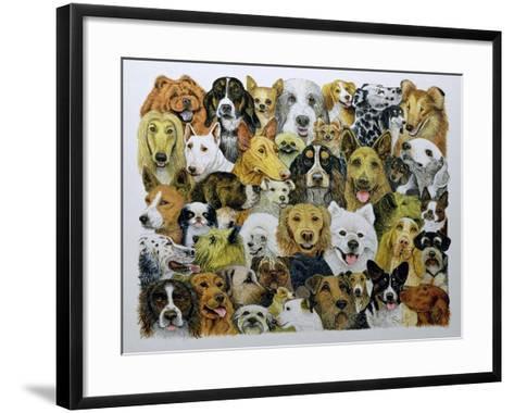 Dog Friends-Pat Scott-Framed Art Print