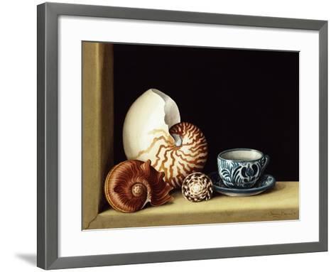 Still Life with Nautilus, 1998-Jenny Barron-Framed Art Print