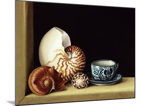 Still Life with Nautilus, 1998-Jenny Barron-Mounted Giclee Print