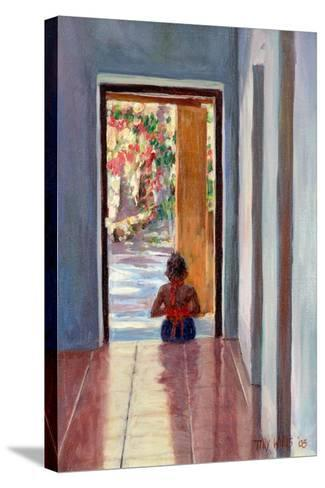 Through the Doorway, 2005-Tilly Willis-Stretched Canvas Print