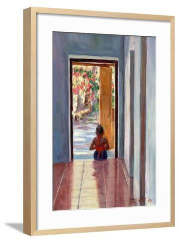 Through the Doorway, 2005-Tilly Willis-Framed Art Print