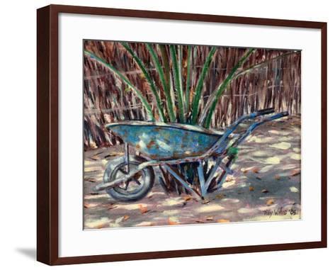Wheelbarrow, 2005-Tilly Willis-Framed Art Print