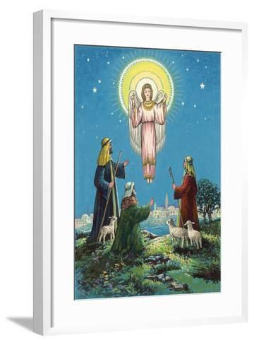 The Three Shepherds-Stanley Cooke-Framed Art Print