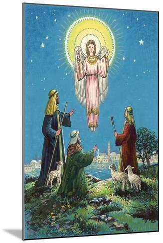 The Three Shepherds-Stanley Cooke-Mounted Giclee Print
