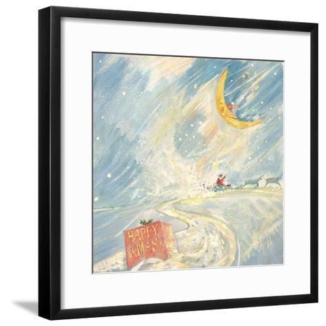 Happy Xmas-David Cooke-Framed Art Print