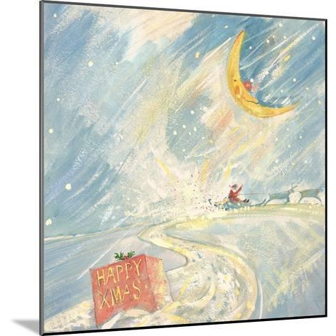 Happy Xmas-David Cooke-Mounted Giclee Print