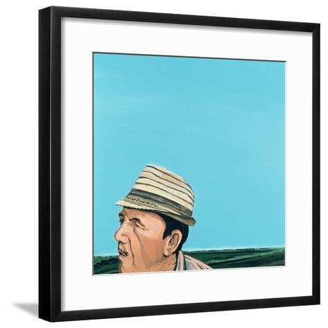 Cuban Portrait #8, 1996-Marjorie Weiss-Framed Art Print