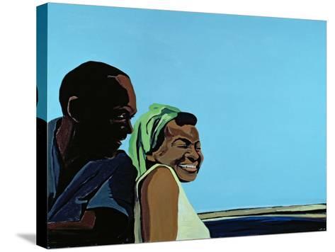 Cuban Portrait No.10, 1996-Marjorie Weiss-Stretched Canvas Print