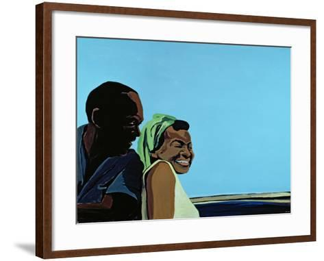 Cuban Portrait No.10, 1996-Marjorie Weiss-Framed Art Print