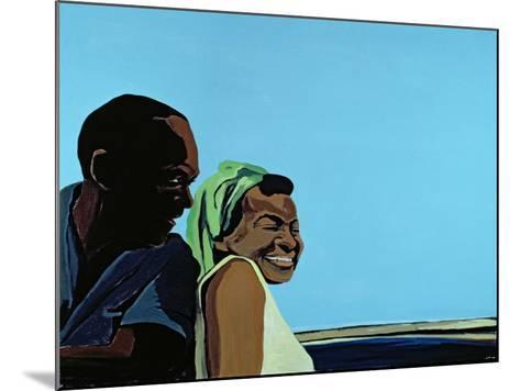 Cuban Portrait No.10, 1996-Marjorie Weiss-Mounted Giclee Print