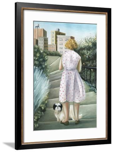 Home, Study-Caroline Jennings-Framed Art Print