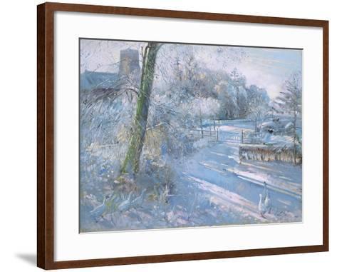 Hoar Frost Morning, 1996-Timothy Easton-Framed Art Print