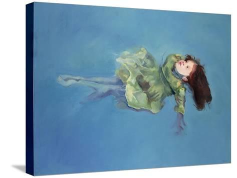 Girl Floating, 2004-Lucinda Arundell-Stretched Canvas Print