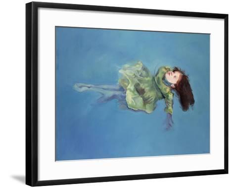 Girl Floating, 2004-Lucinda Arundell-Framed Art Print