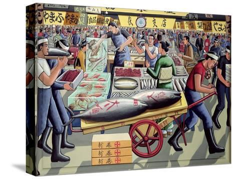 Tsukiji Fish Market, 2005-P.J. Crook-Stretched Canvas Print