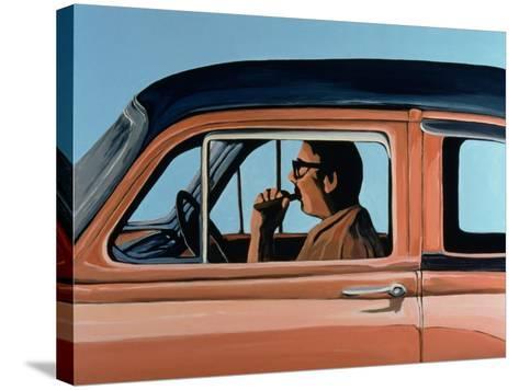 Cuban Portrait #1, 1996-Marjorie Weiss-Stretched Canvas Print