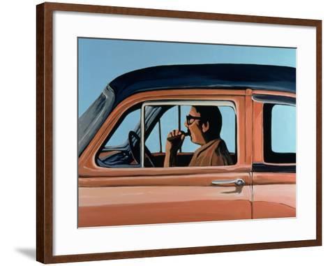Cuban Portrait #1, 1996-Marjorie Weiss-Framed Art Print