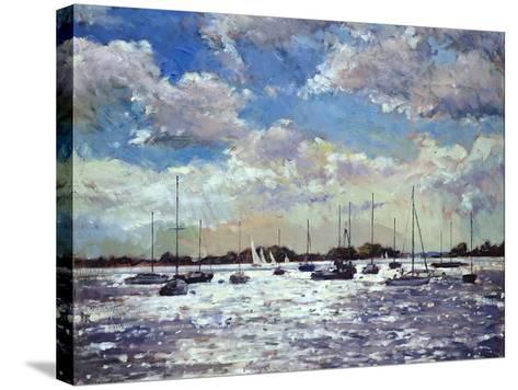 Evening Light, Gulf of Morbihan, 2002-Christopher Glanville-Stretched Canvas Print