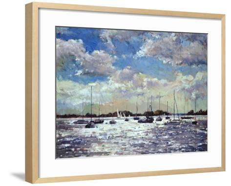 Evening Light, Gulf of Morbihan, 2002-Christopher Glanville-Framed Art Print
