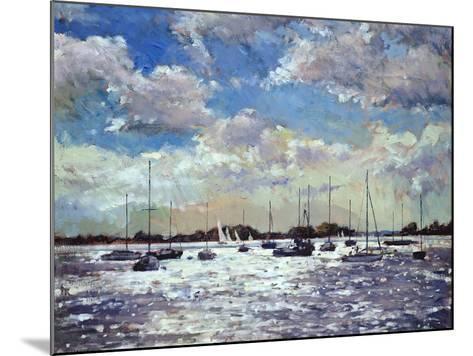 Evening Light, Gulf of Morbihan, 2002-Christopher Glanville-Mounted Giclee Print