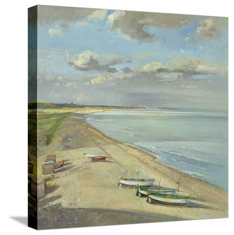 Towards Southwold-Timothy Easton-Stretched Canvas Print