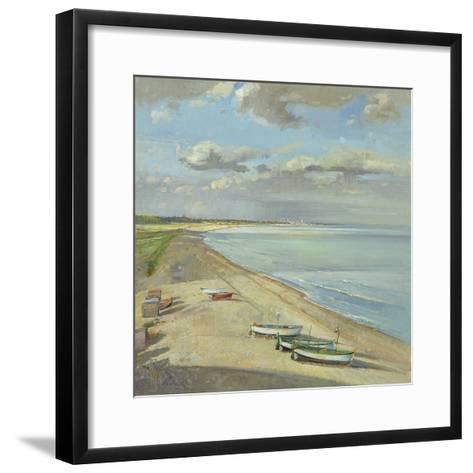 Towards Southwold-Timothy Easton-Framed Art Print