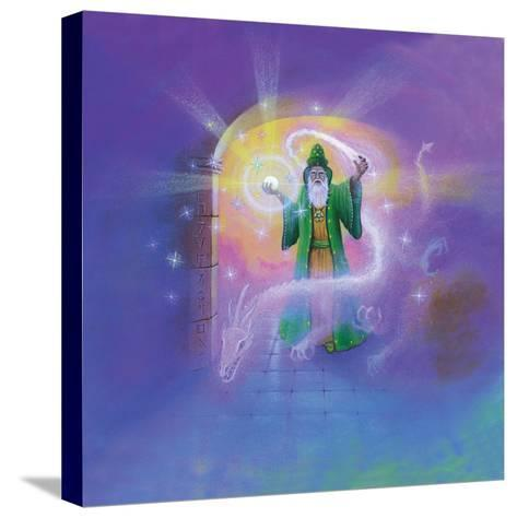 Wizard-Simon Cook-Stretched Canvas Print