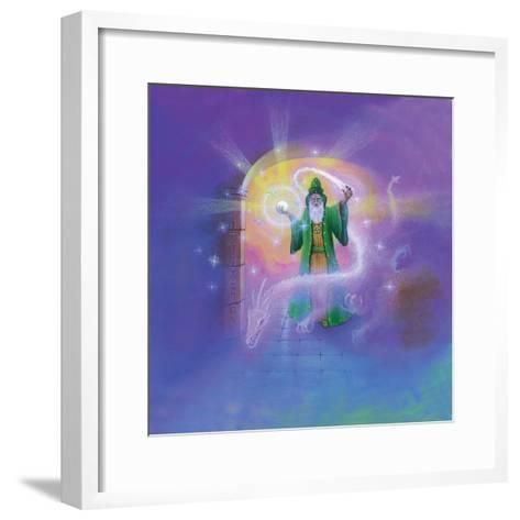Wizard-Simon Cook-Framed Art Print