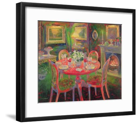 The Dining Room, C.2000-William Ireland-Framed Art Print