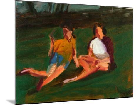 Two Girls, 2004-Daniel Clarke-Mounted Giclee Print