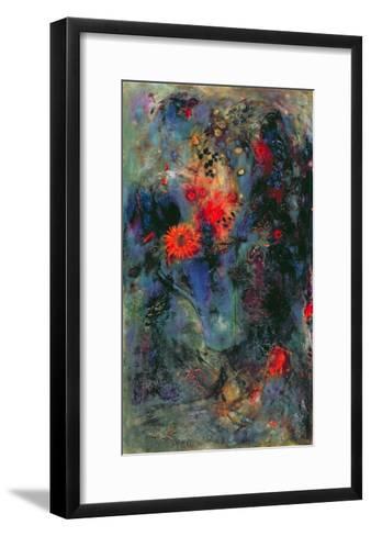 Sunflower, 2002-Jane Deakin-Framed Art Print