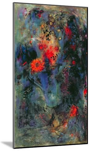 Sunflower, 2002-Jane Deakin-Mounted Giclee Print