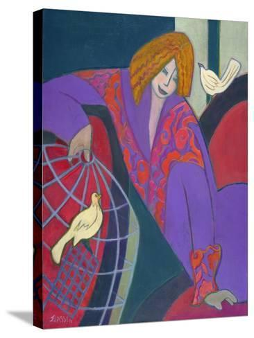 Free as a Bird, 2003-04-Jeanette Lassen-Stretched Canvas Print