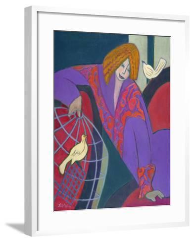 Free as a Bird, 2003-04-Jeanette Lassen-Framed Art Print