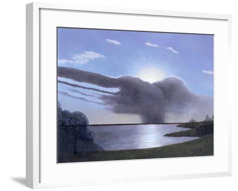 Draycote Cloud, 2004-Ann Brain-Framed Art Print