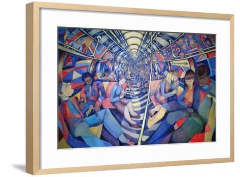 Subway NYC, 1994-Charlotte Johnson Wahl-Framed Art Print