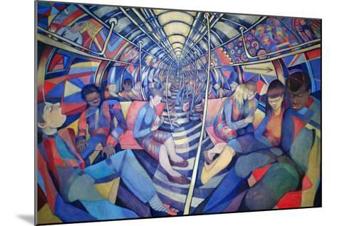 Subway NYC, 1994-Charlotte Johnson Wahl-Mounted Giclee Print