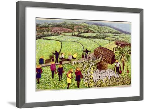 Pastoral, 1992-Komi Chen-Framed Art Print