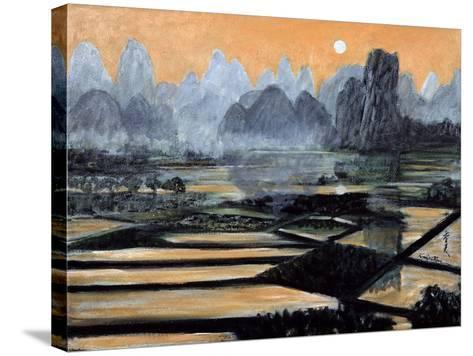 The Setting Sun, 1996-Komi Chen-Stretched Canvas Print