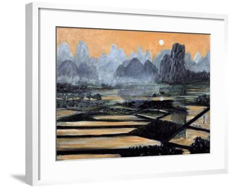 The Setting Sun, 1996-Komi Chen-Framed Art Print