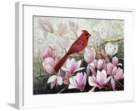 Cardinal, 2001-Komi Chen-Framed Art Print