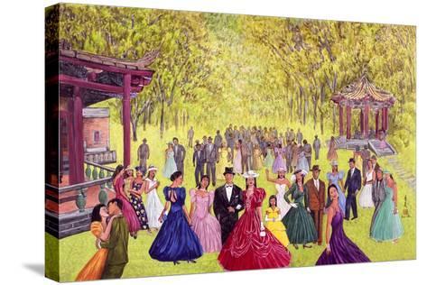 Elegant Garden Ball, 1996-Komi Chen-Stretched Canvas Print