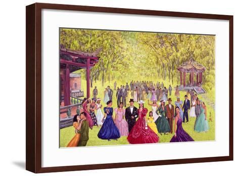 Elegant Garden Ball, 1996-Komi Chen-Framed Art Print