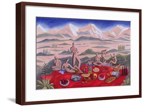 The Picnic, 1992-Marie Hugo-Framed Art Print