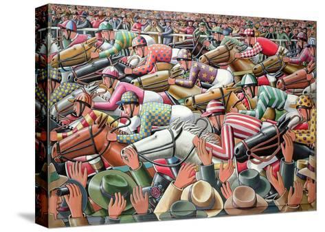 The Big Race, 2006-P.J. Crook-Stretched Canvas Print