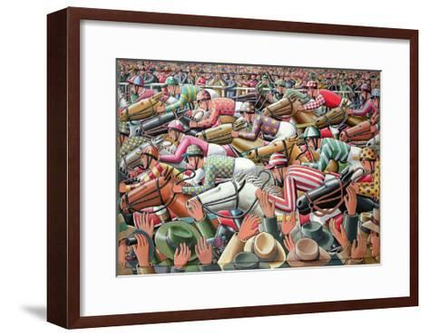 The Big Race, 2006-P.J. Crook-Framed Art Print