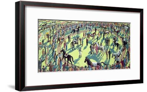 A Day at the Races, 2006-P.J. Crook-Framed Art Print