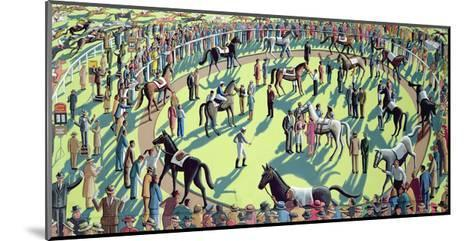 A Day at the Races, 2006-P.J. Crook-Mounted Giclee Print