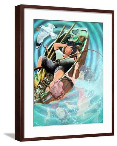 Nogood Boyo the Layabout Dreaming His Dreams, 2005-Tony Todd-Framed Art Print