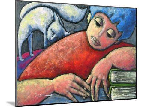 Haciendo Tareas En Mi Cuarto-Oscar Ortiz-Mounted Giclee Print